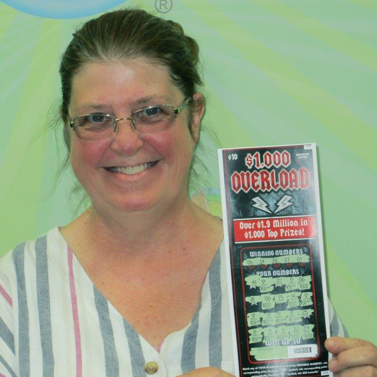 $1,000 OVERLOAD Winner - SHIRLEY E