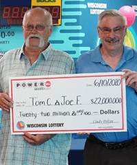 POWERBALL Winner - TOM C