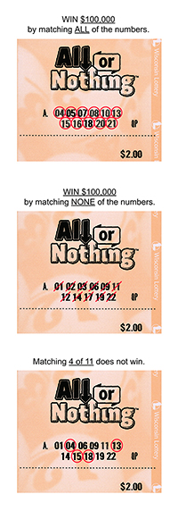 All or Nothing | Wisconsin Lottery