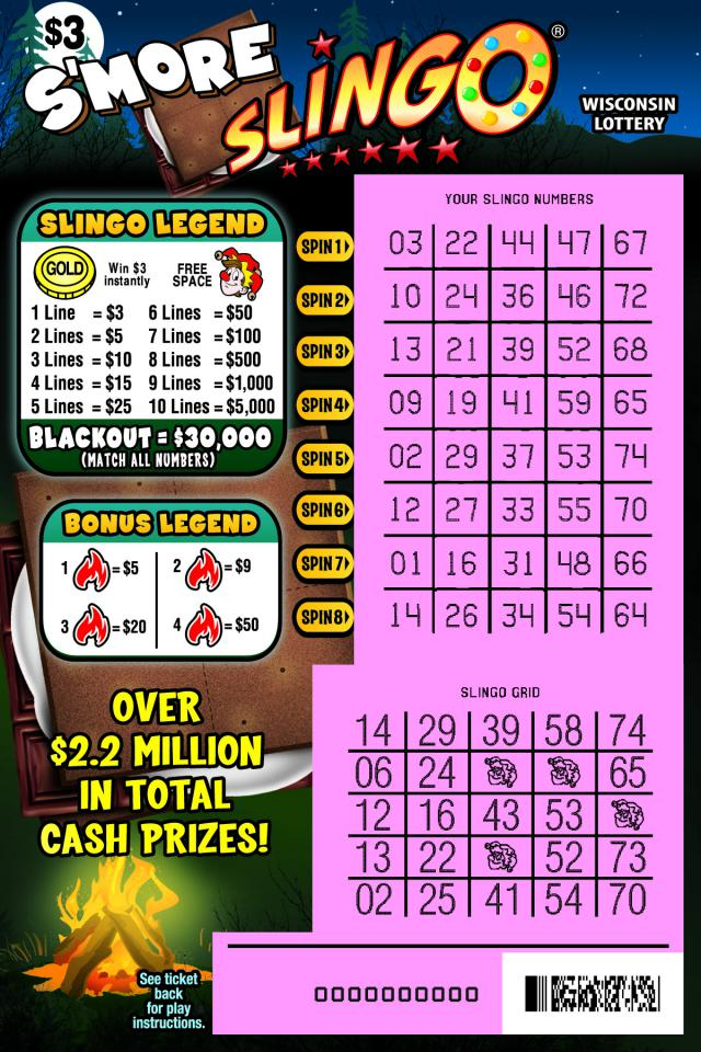 WI-Lottery-2127-Scratch-Game-Smore-Slingo-Scratched