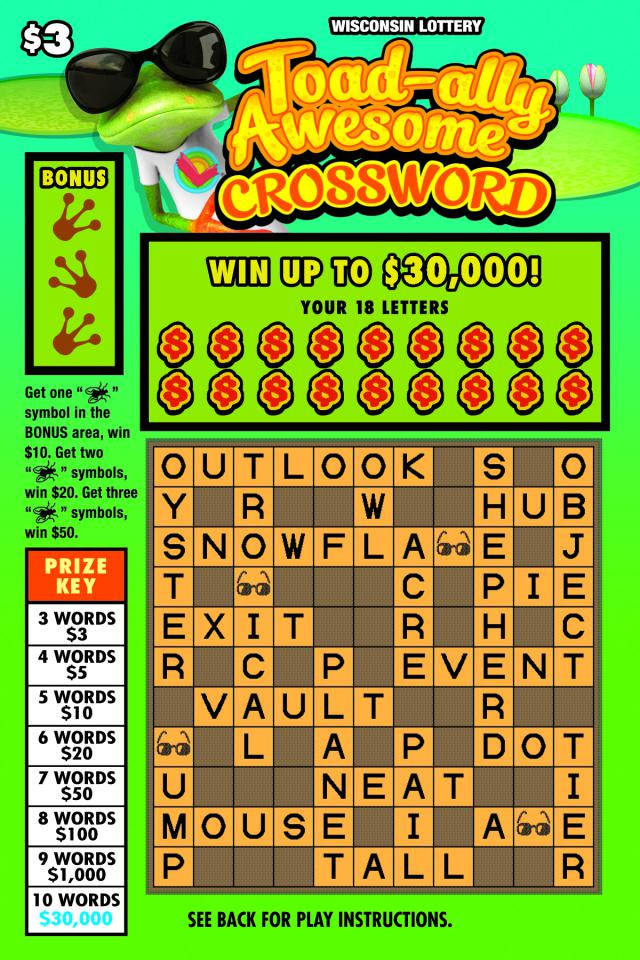 WI-Lottery-2163-Scratch-Game-Toad-Ally-Awesome-Crossword