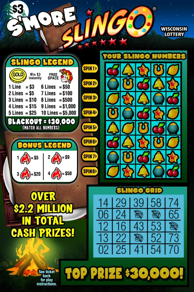 WI-Lottery-2127-Scratch-Game-Smore-Slingo