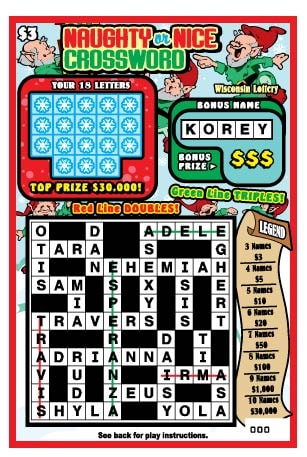 Naughty or Nice Crossword (937)