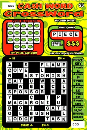 Cash Word Crossword (943)