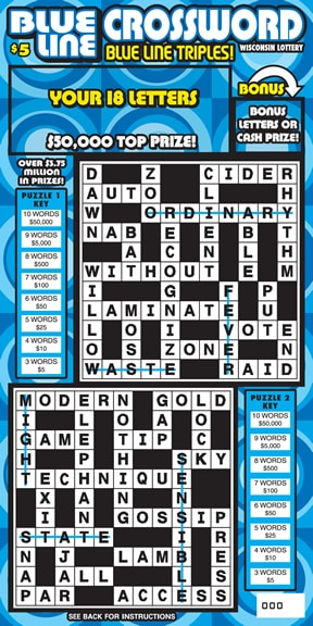 Blue Line Crossword (982)