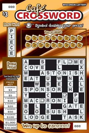 Cafe Crossword (256)