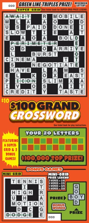 $100 Grand Crossword (397)