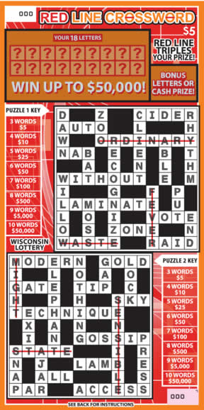 Red Line Crossword (457)
