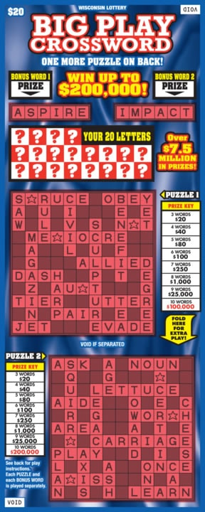 Big Play Crossword (445)