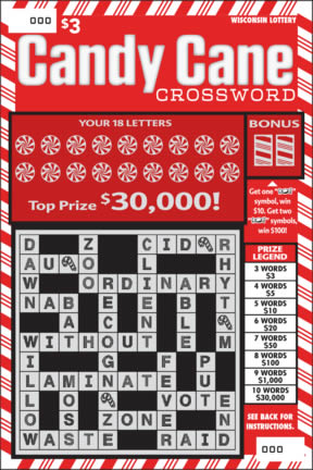 Candy Cane Crossword (493)