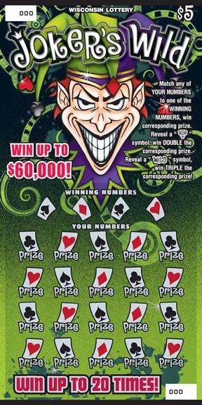 Joker's Wild (485) | Wisconsin Lottery