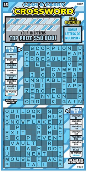 Cash & Carry Crossword (527)