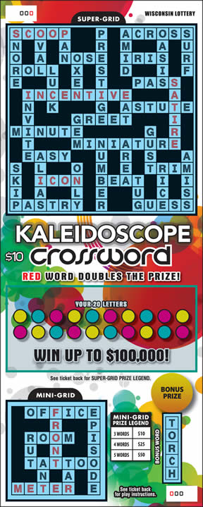 Kaleidoscope Crossword (552)