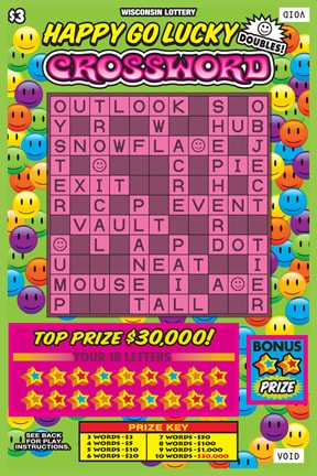 Happy Go Lucky Crossword (583)