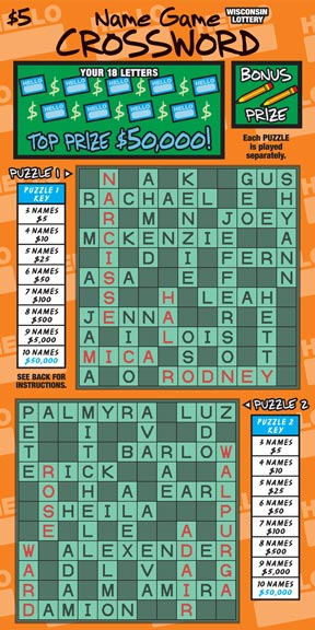 Name Game Crossword (667)