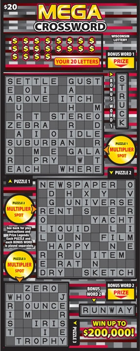 Mega Crossword (2067)