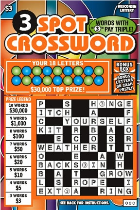 3 Spot Crossword (695)