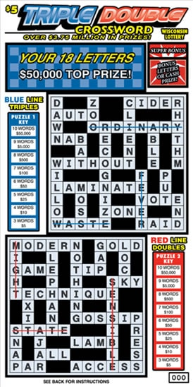 Triple Double Crossword (687)