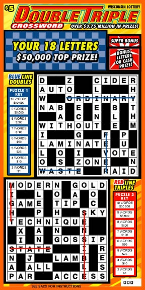 Double Triple Crossword (828)