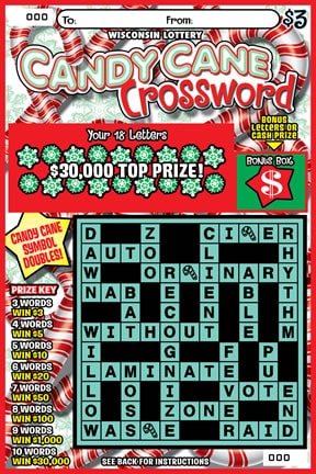 Candy Cane Crossword (872)